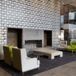 Hotel lobby protected from pest infestations by Modern Pest